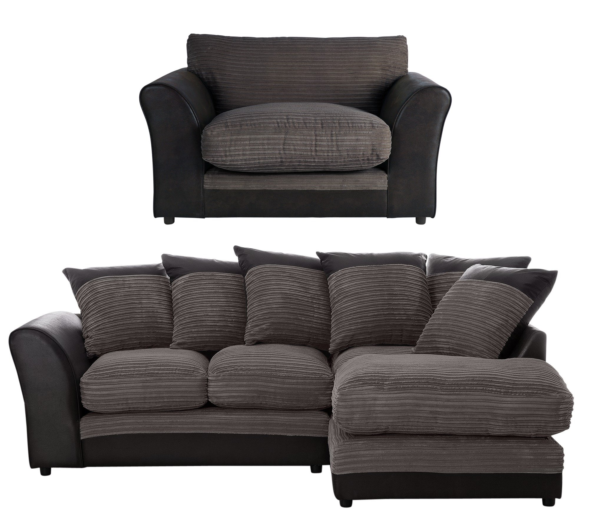 cheap sofas uk argos sofa portable table home harley reg right corner and cuddle chair charcoal