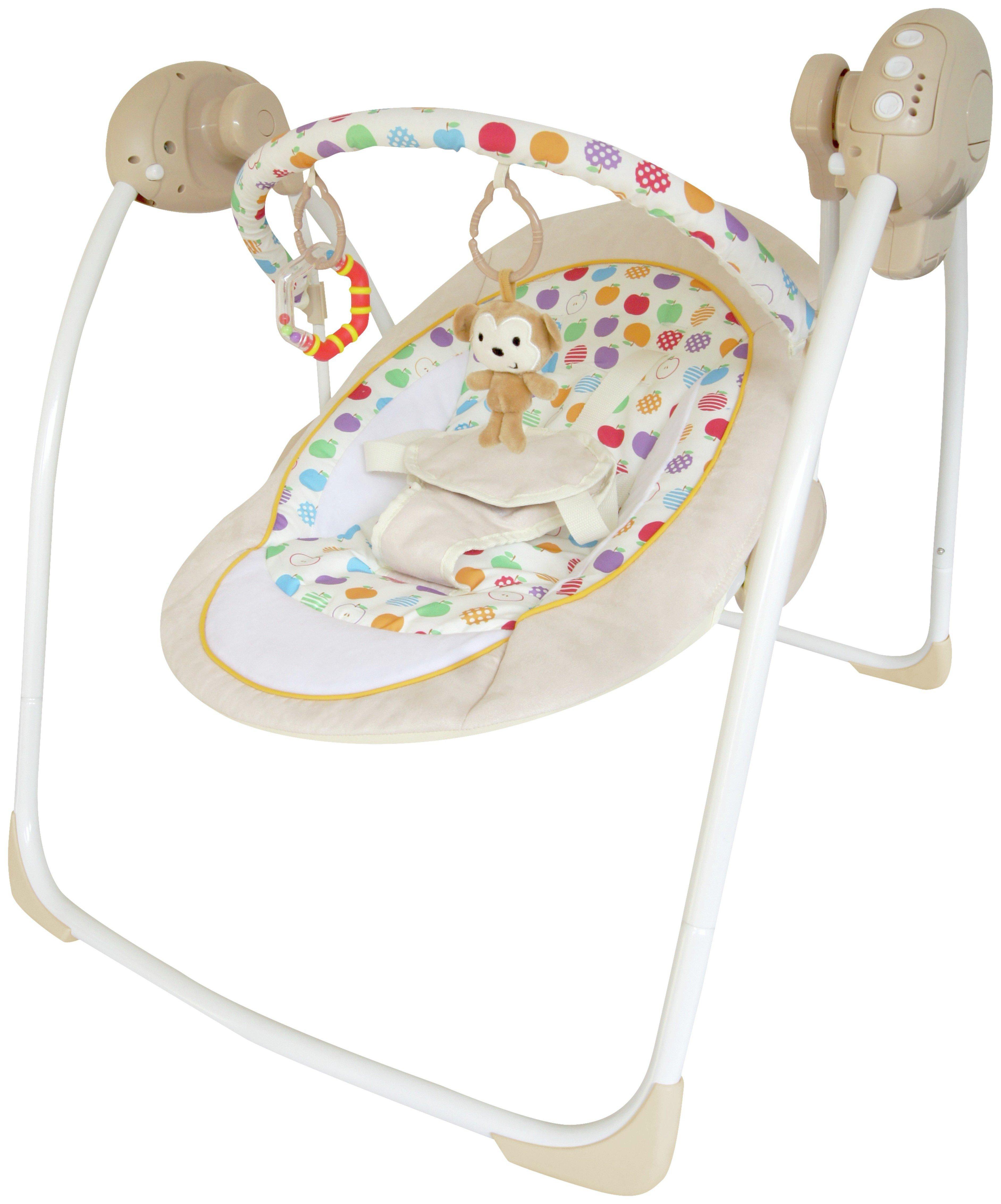 argos baby bouncer chair ergonomic ball office bebe style rocker cradling musical swing 54 99 octer