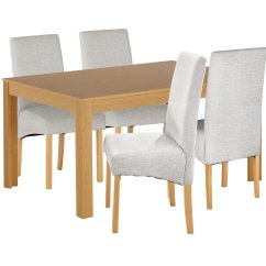 Wooden Kitchen Chairs Argos Cream Painted Dining Table And Home Elmwood Oak Veneer Ext 4 Gay Times