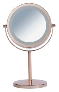 Buy Danielle Creations Rose Gold Finish Light Up Mirror at ...