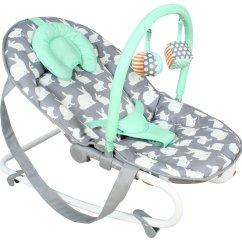 Argos Baby Bouncer Chair Office Steel Frame Sale On My Babiie Mbfbgr Grey Rabbits