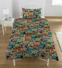 Dr Who Comic Bedding Set