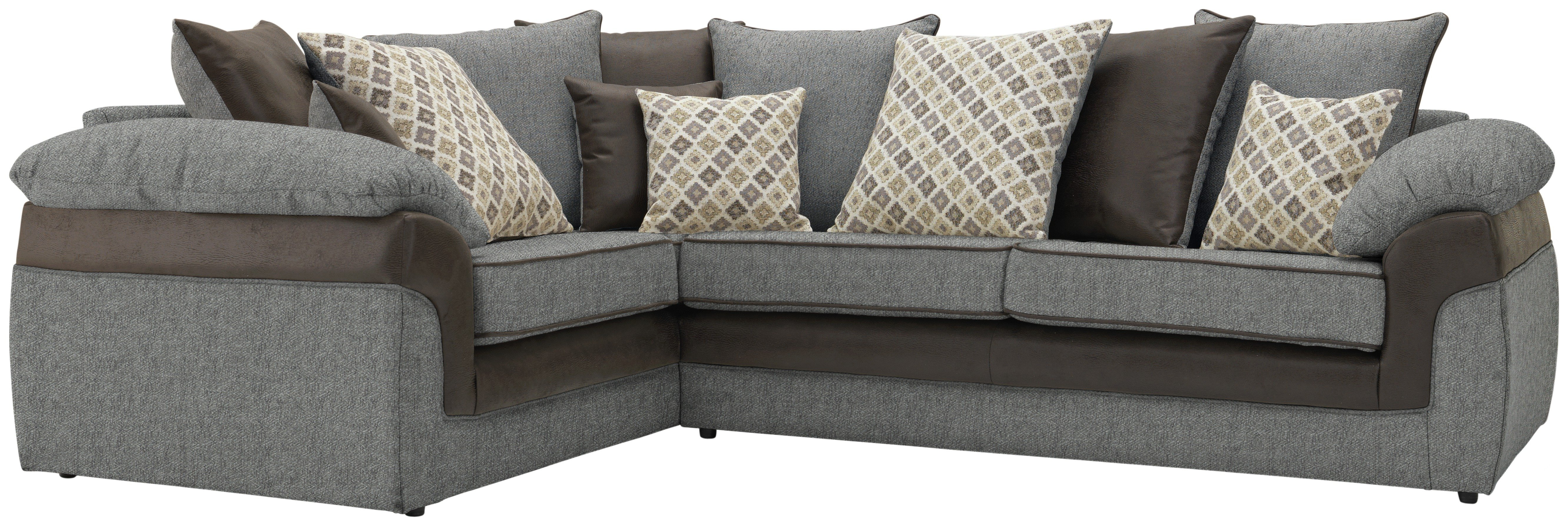 argos ava fabric sofa review large l shaped dimensions collection maddison left hand corner