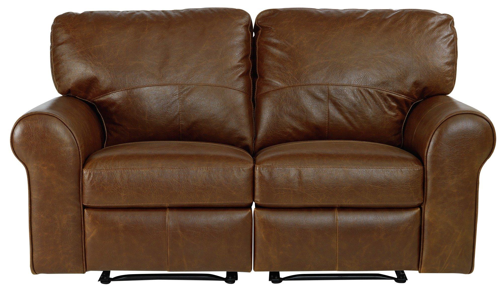buy sofa uk velvet chesterfield nz argos home salisbury 2 seater leather recliner tan