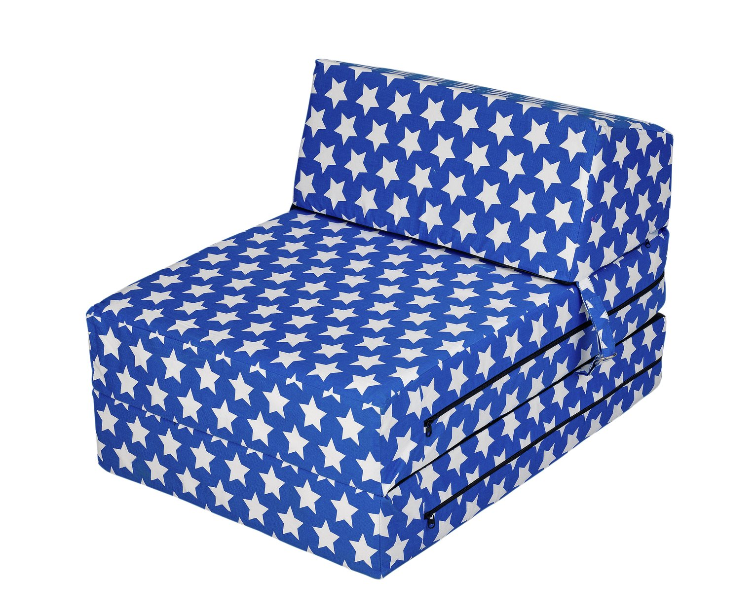 folding chair bed argos swivel value city buy home flip out stars sofa beds chairbeds and click to zoom