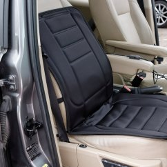 Chair Arm Covers Argos Inexpensive Dining Chairs Sets Buy Streetwize Padded And Heated Car Seat Cover Black