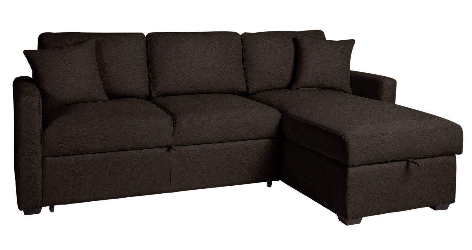 argos small corner sofa bed circular sectional canada sale on home reagan leather eff right