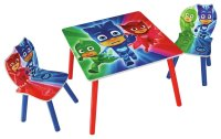 SALE on PJ Masks Table & Chair Set - Blue - PJ Masks. Now ...