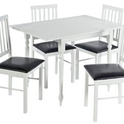 Drop Leaf Table And Chairs Argos Coleman Cooler Chair Home Orton Spindle Large 4