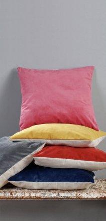buy argos home matt velvet cushion burnt orange cushions argos