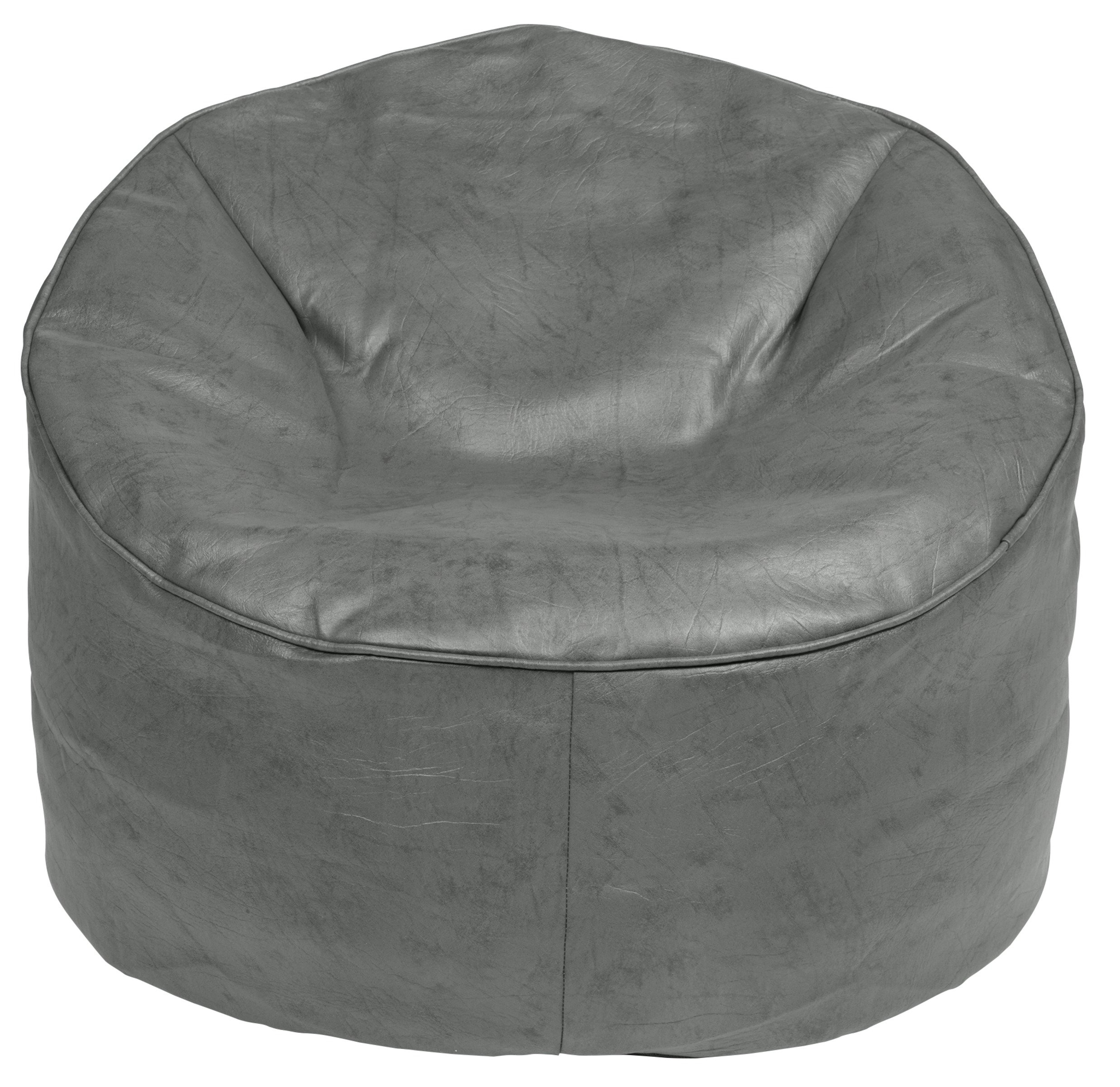 bean bag gaming chair argos covers party supplies buy home faux leather grey beanbags