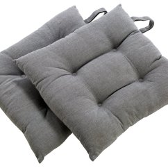 Grey Chair Cushions Covers Groupon Buy Sainsbury S Home Set Of 2 Pads And