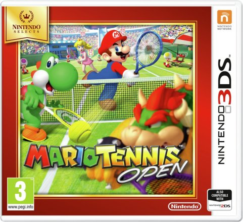 Buy Mario Tennis Open Nintendo 3ds Game Nintendo 2ds