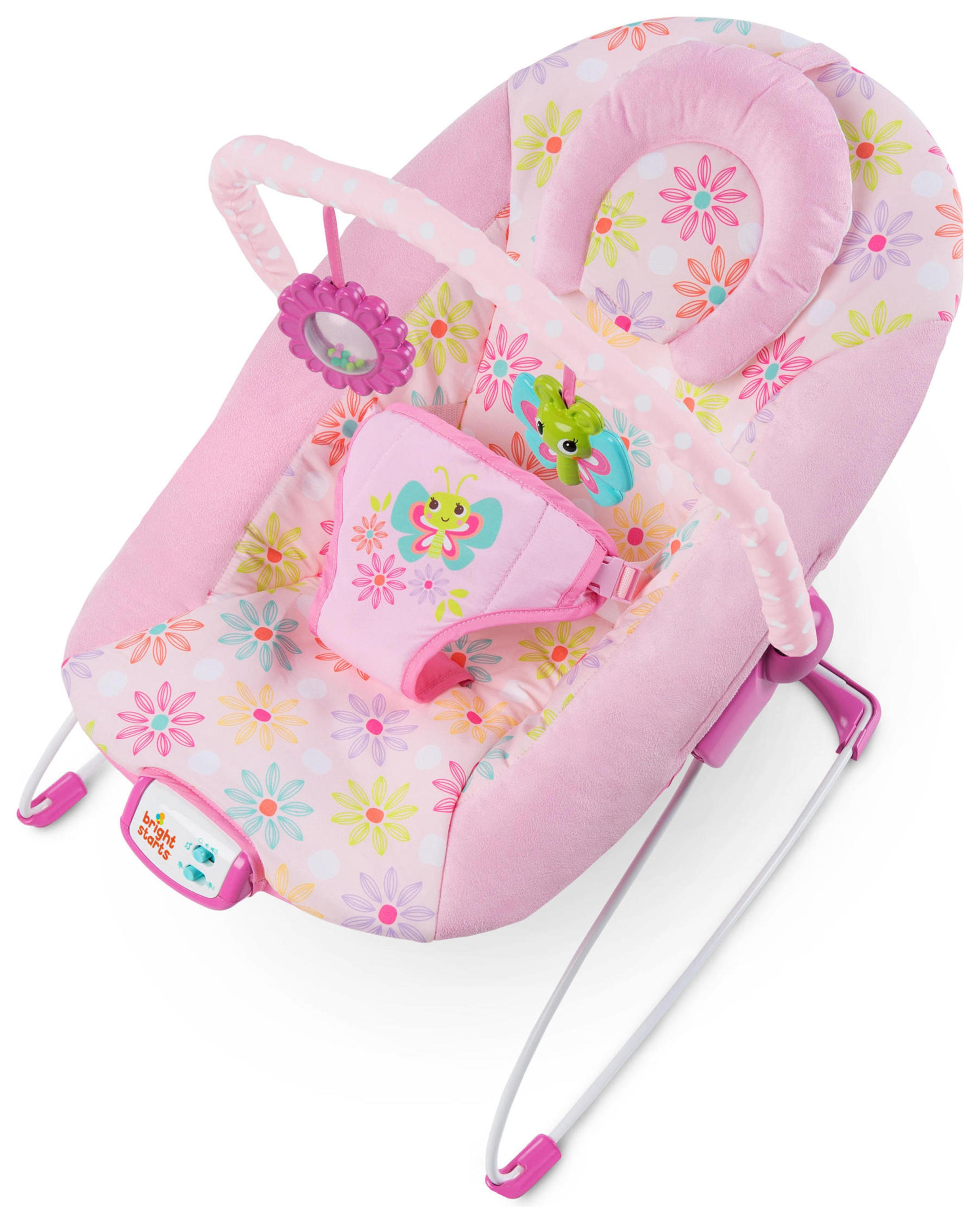 argos baby bouncer chair wooden office wheels review of bright starts butterfly dreams