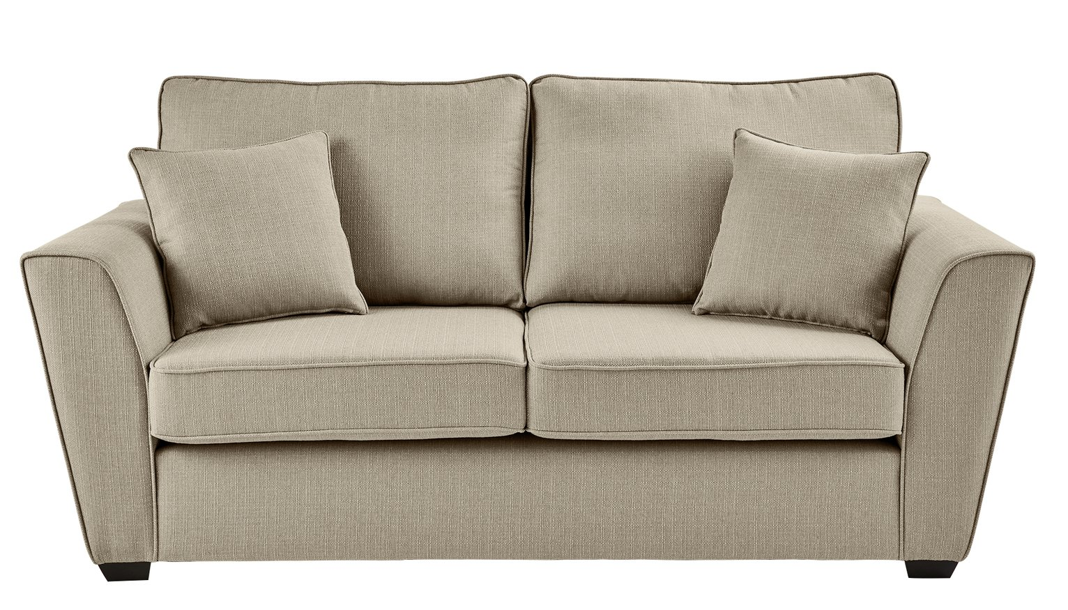 argos ava fabric sofa review small leather sectional sleeper of collection renley 2 seater natural