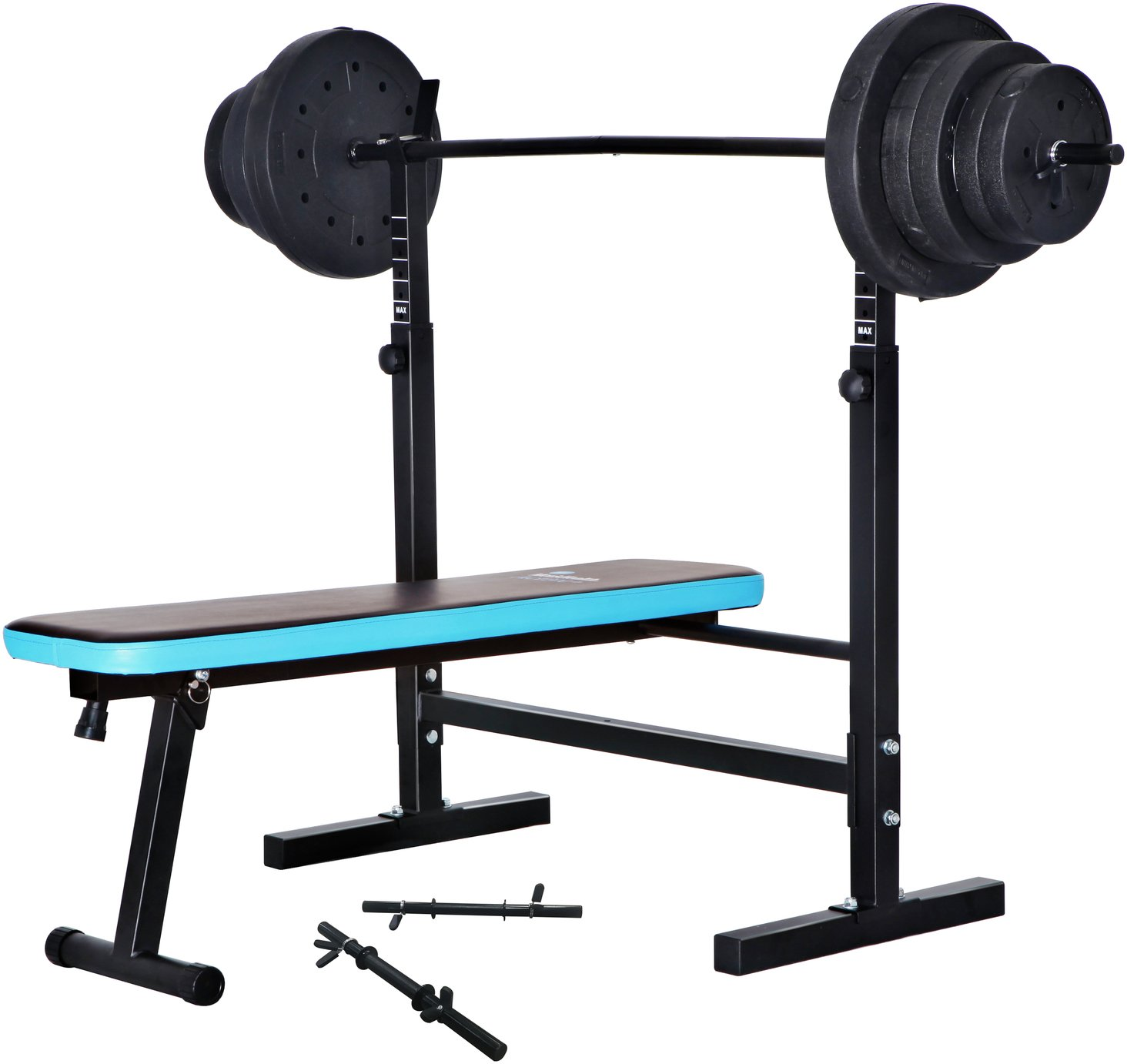 chair gym argos walmart leather buy men s health folding bench with 50kg weights weight benches