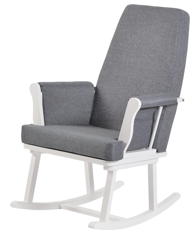 rocker gaming chair argos office accessories back pain sale on kub haldon rocking white now