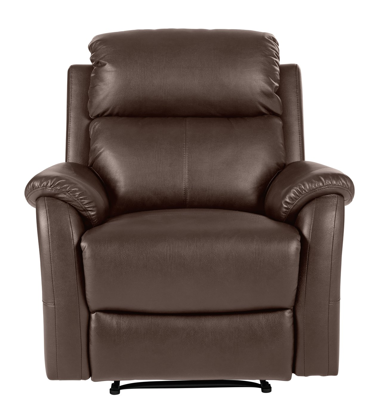 electric recliner chairs argos white cane dining room buy home tyler leather manual chair chocolate click to zoom