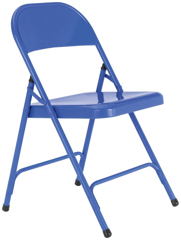 blue metal folding chairs unique rocking buy habitat macadam chair cobalt dining