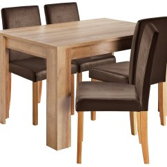 Wooden Kitchen Chairs Argos Chair Covers North East Sale On Home Miami Dining Table And 4 Chocolate