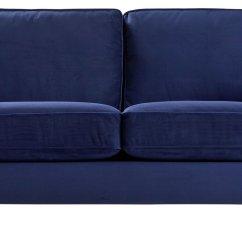 Buy Sofa Uk U Shaped Sectionals Argos Home Abberton 3 Seater Velvet Navy Sofas