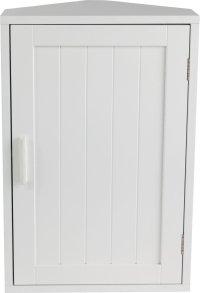 Buy HOME Wooden Corner Bathroom Cabinet - White at Argos ...
