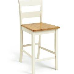 Chair Stool Argos Comfortable Executive Buy Home Chicago Bar Oak And Cream Stools