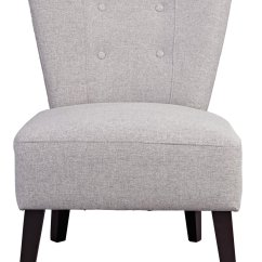 Light Grey Chair Toilet Height Vs Standard Buy Argos Home Delilah Fabric Cocktail Armchairs