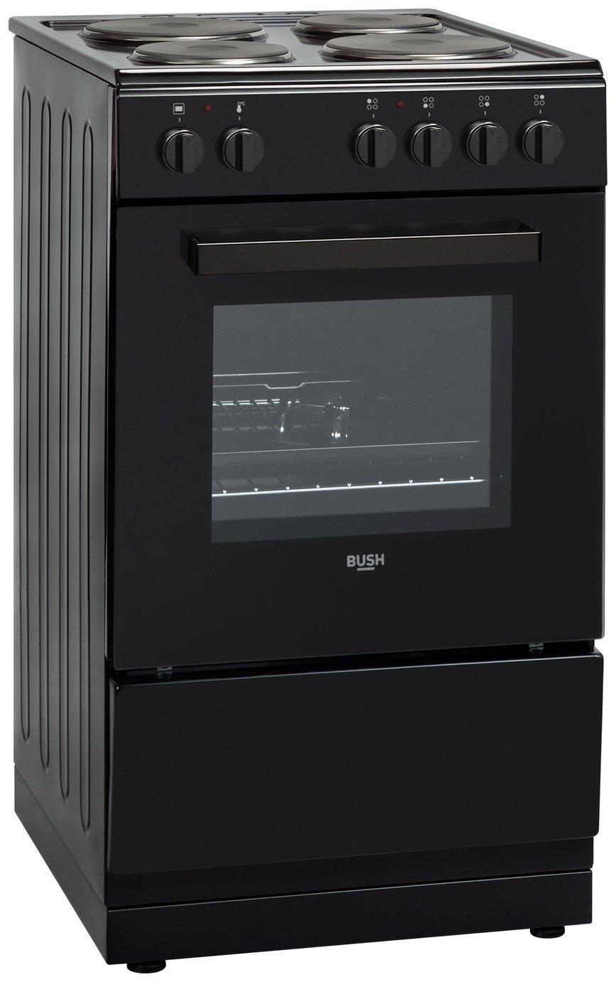 large kitchen appliances curtains ikea buy bush dhbes50b electric cooker black