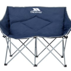 Double Seat Folding Chair Will Medicare Pay For A Lift Buy Trespass Camping Chairs Argos
