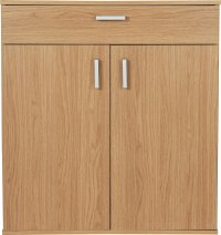 Buy HOME Venetia Shoe Storage Cabinet - Oak Effect at ...