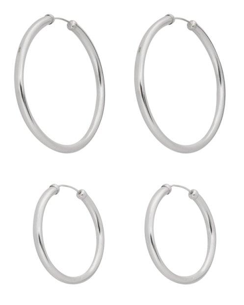 Buy Sterling Silver Hoop Earrings