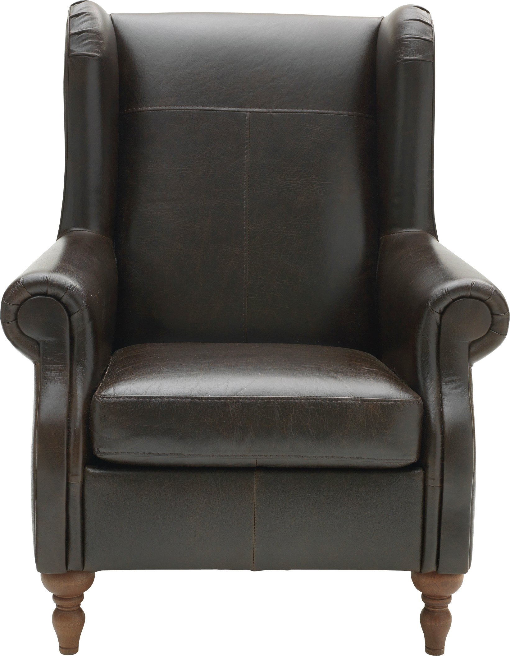 dark brown leather chair large armless slipcover results for armchair argos home argyll high back