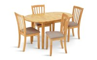 Buy Collection Banbury Ext Solid Wood Table & 4 Chairs ...