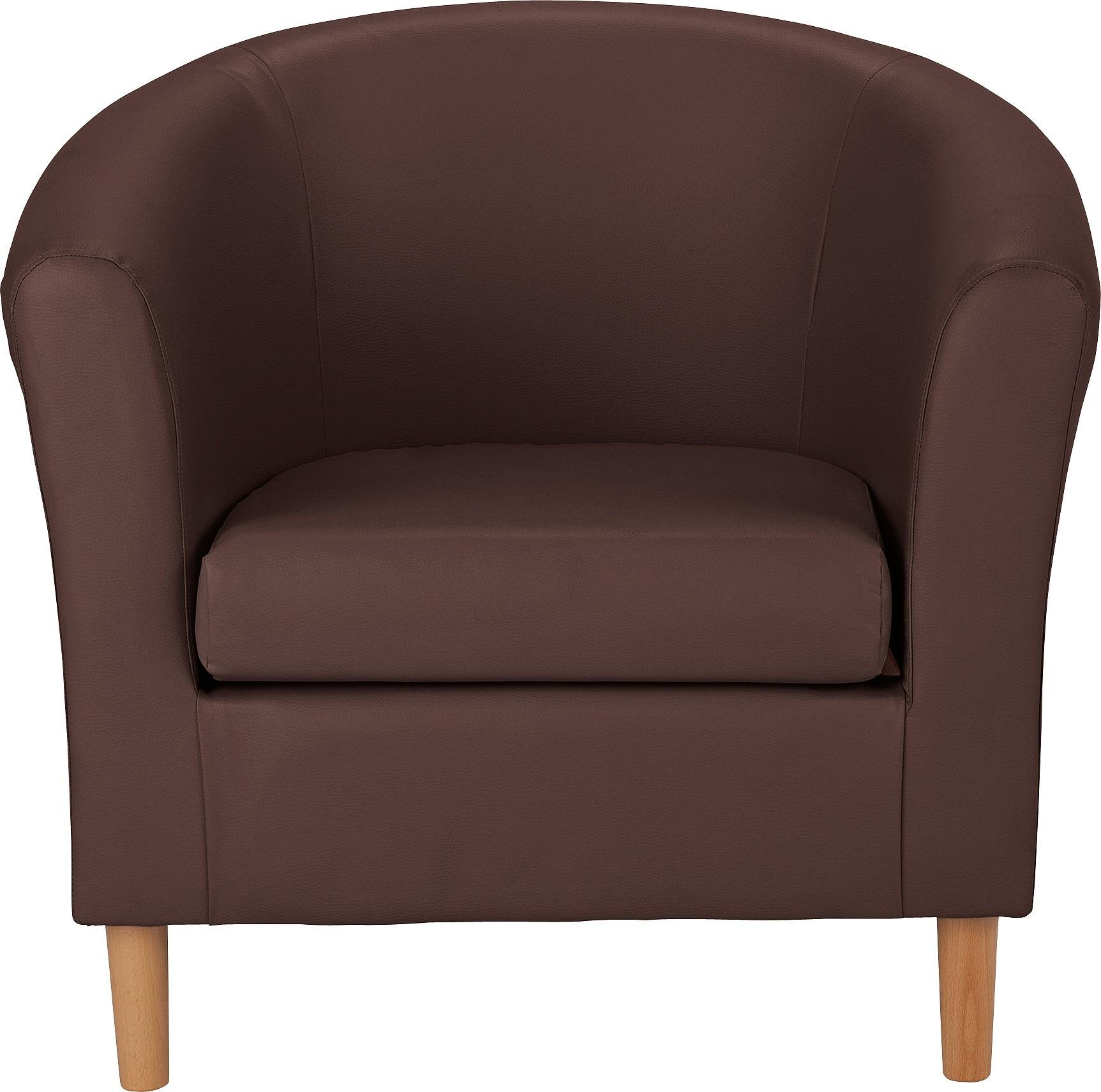 leather tub chair peacock fan results for chairs in home and garden living room argos faux brown