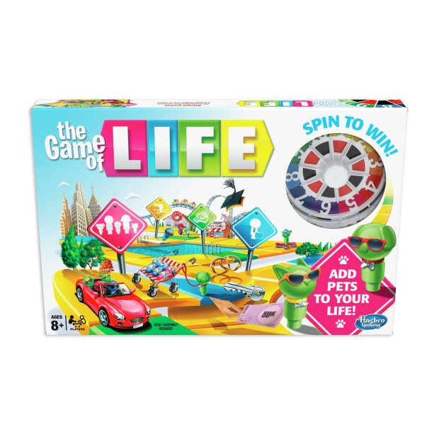 Buy The Game Of Life Classic Board Game From Hasbro Gaming