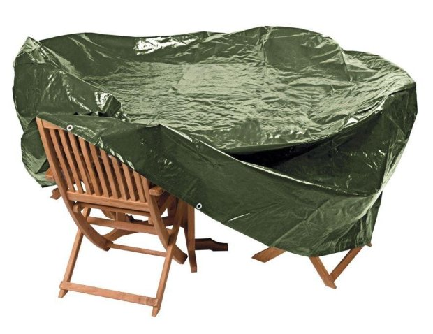 buy argos home heavy duty extra large oval patio set cover garden furniture covers argos