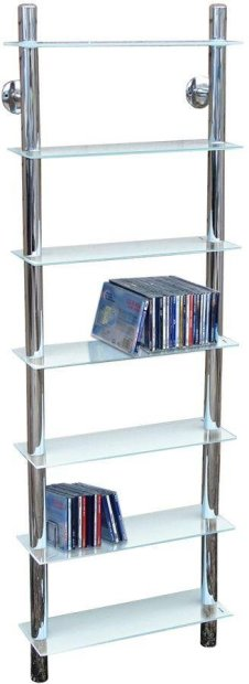 Buy Tall Shelving Unit Clear Glass At Argoscouk Your