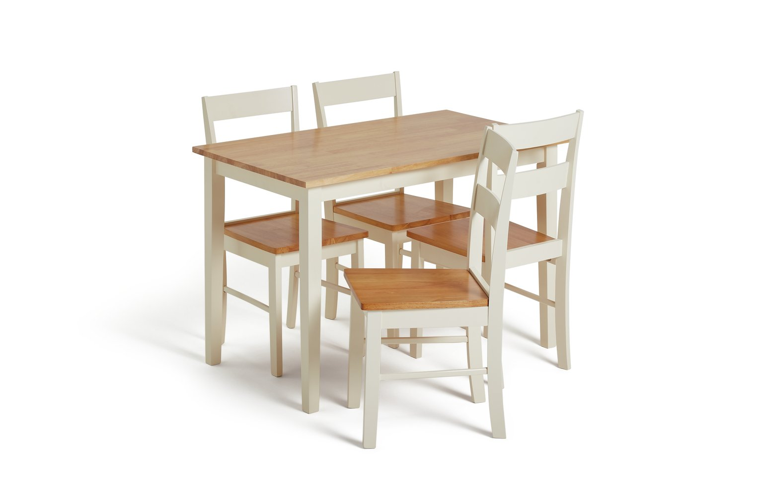 small table for kitchen chairs results 2 argos home chicago solid wood 4 two tone