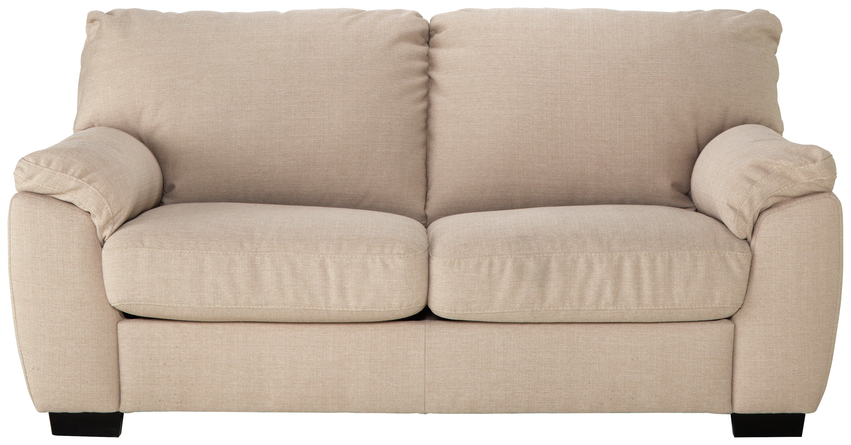sofa beds argos co uk sectional sofas like pottery barn buy collection milano 2 seater fabric bed - beige ...