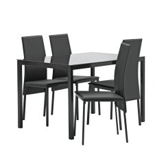 Black Table And Chairs American Leather Results For