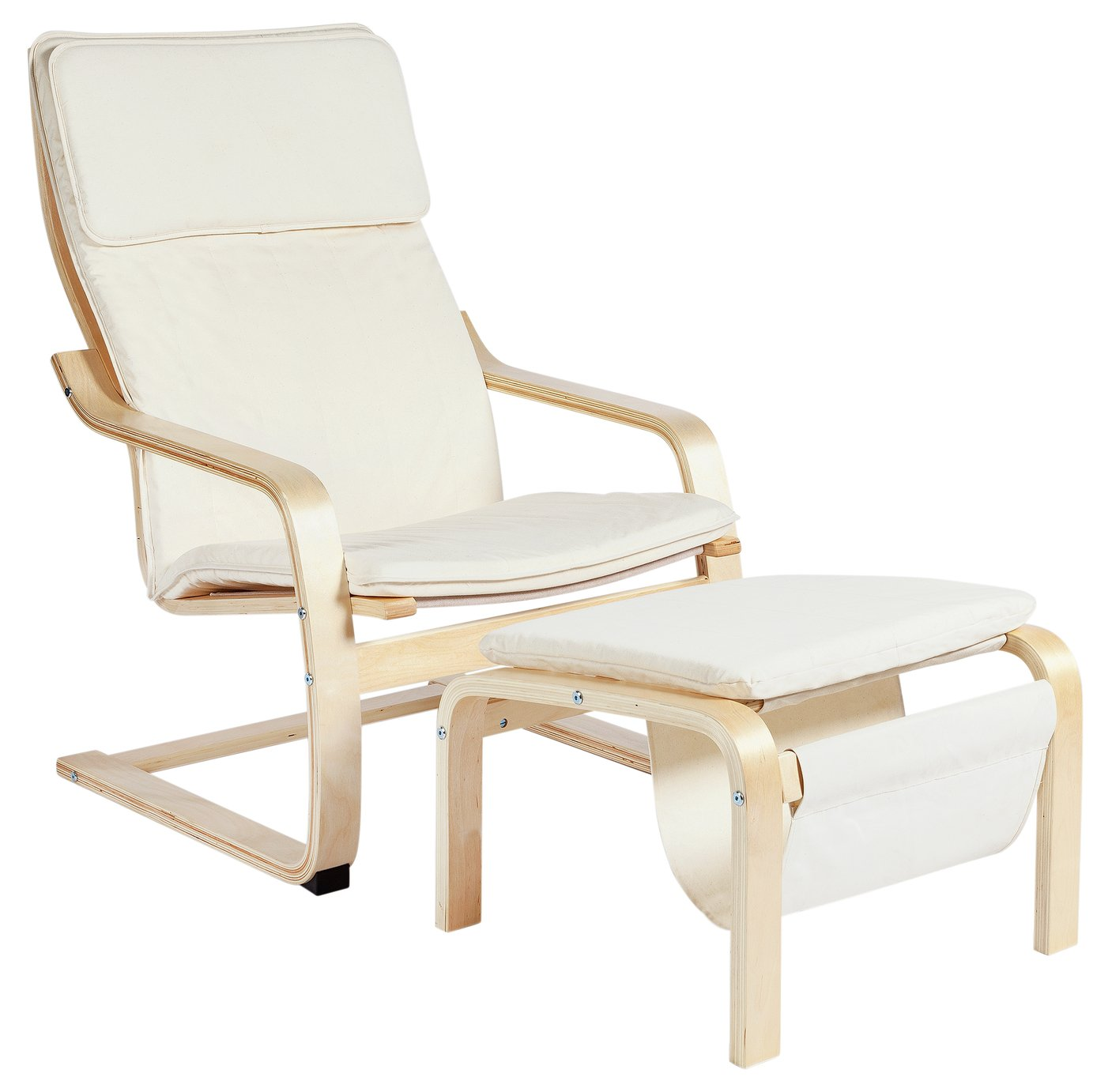 chair gym argos white pool lounge chairs results for home bentwood fabric and footstool natural