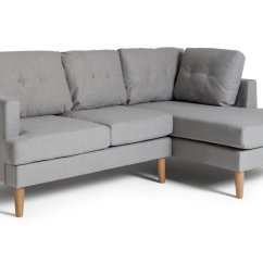 Really Small Corner Sofas Best Mattress Topper For A Sofa Bed Argos Home Joshua Right Fabric Light Grey