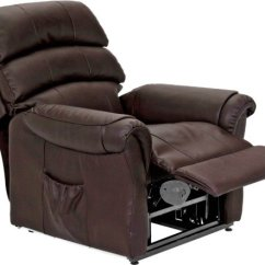 Dark Brown Leather Chair Cover Hire Lincoln Results For Armchair Argos Home Warwick Power Recliner