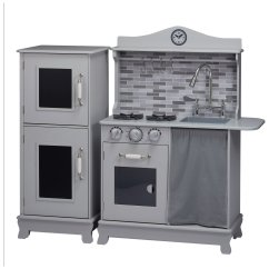 Childrens Play Kitchen With Apron Sink Results For Teamson Kids Wooden Grey