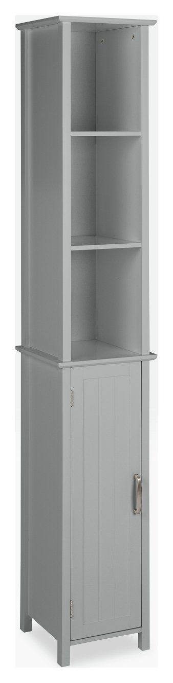 tall kitchen cabinets built in wine racks for results argos home new tongue and groove cabinet grey