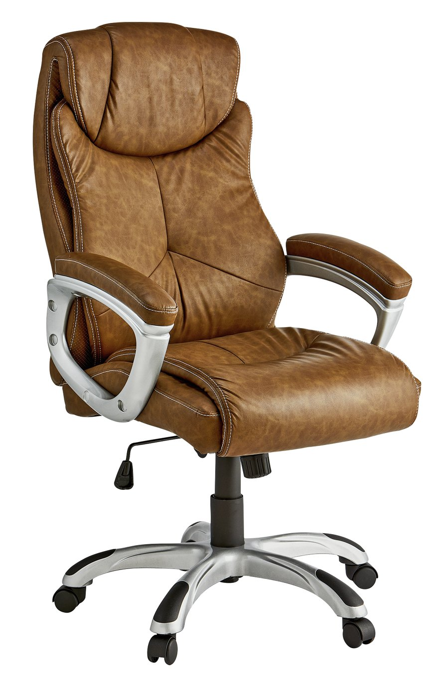 office chairs uk dining room chair covers desk argos x rocker executive height adjustable