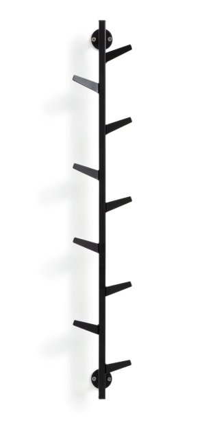 buy argos home large wall mountable coat rack black coat hooks and stands argos