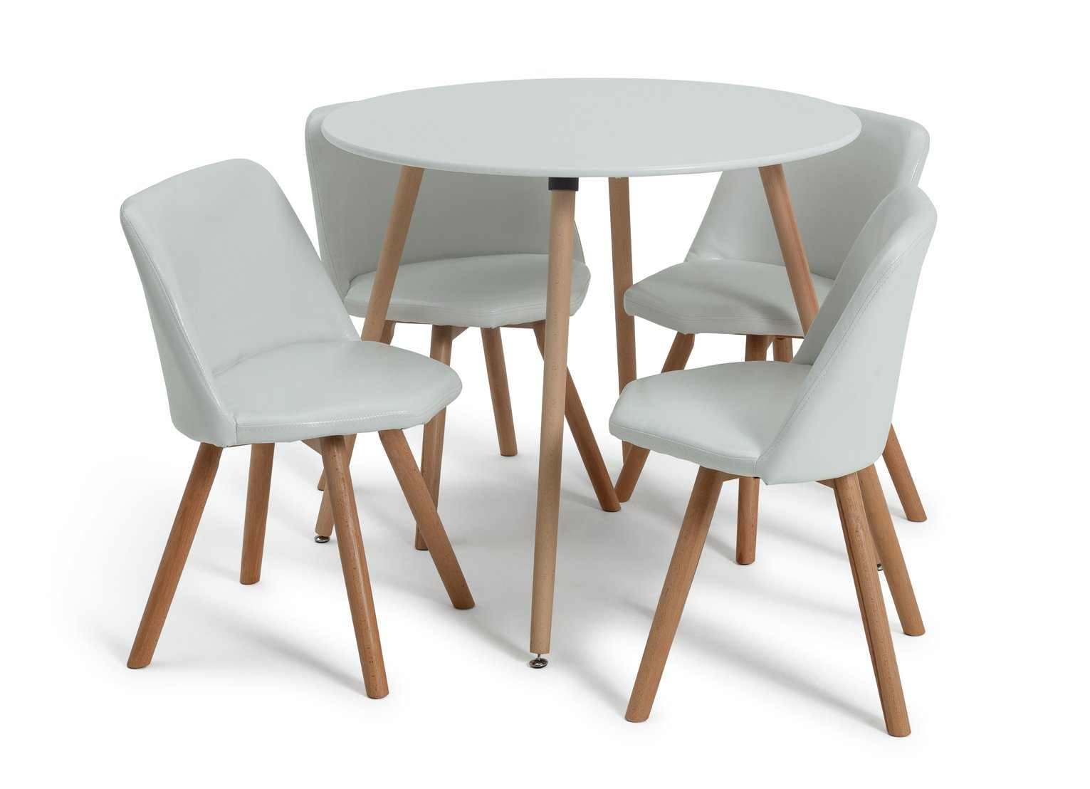 drop leaf table and chairs argos telescopic camping buy hygena amparo oak effect dining & 4 - cream at argos.co.uk your online shop ...