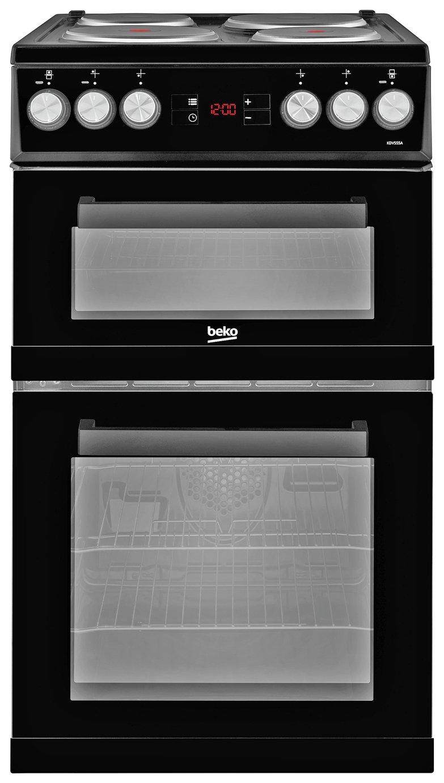 beko electric cooker wiring diagram bosch horn relay freestanding cookers argos kdv555ak black